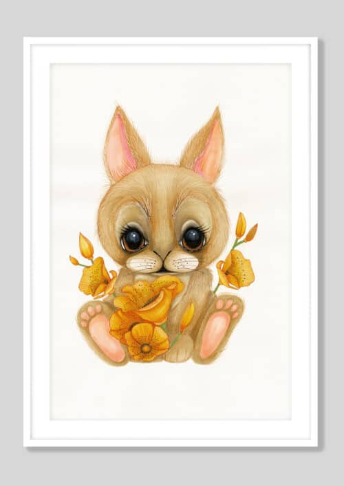 Copy of Baby Bunny AH 2019 White Frame