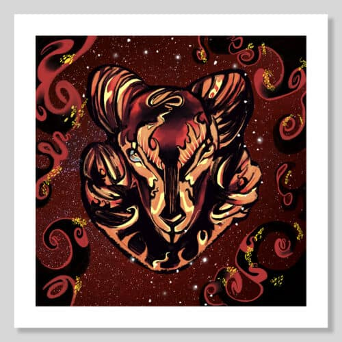 Highlight Zodiac Collection AG 2020 Aries No Frame with Background