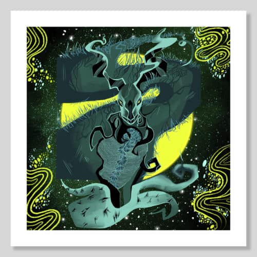 Highlight Zodiac Collection AG 2020 Capricorn No Frame with Background