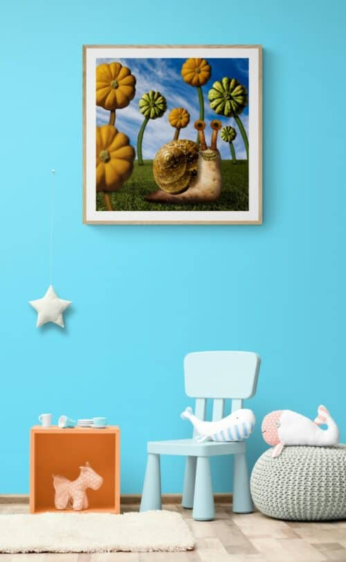 Snazzy childrens room with toys