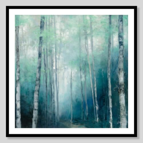 62754a To the Woods Black Frame