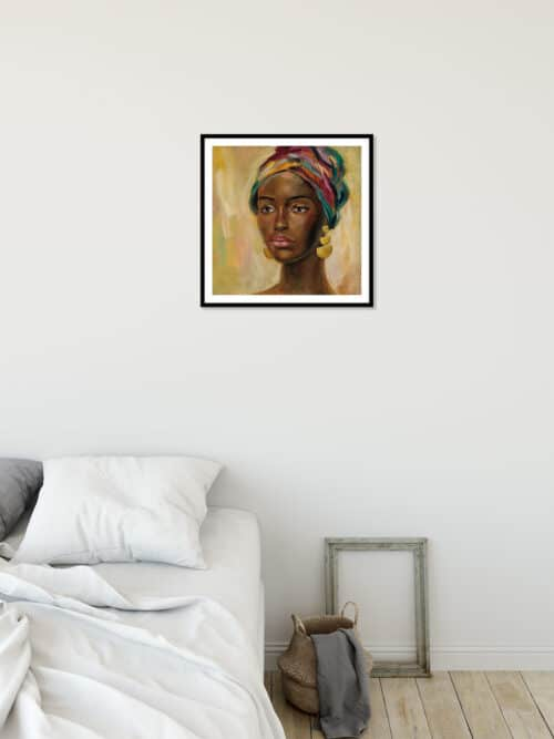 65248a African Face II Wall 02