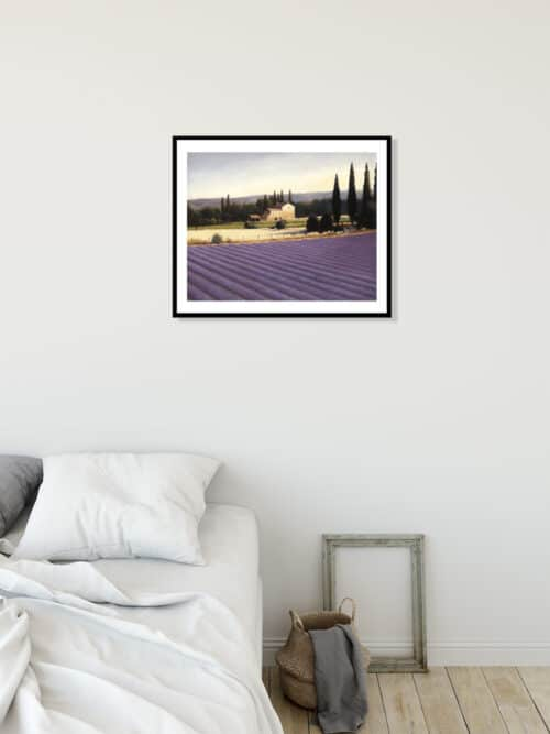 10331e Lavender Fields II Wall 02