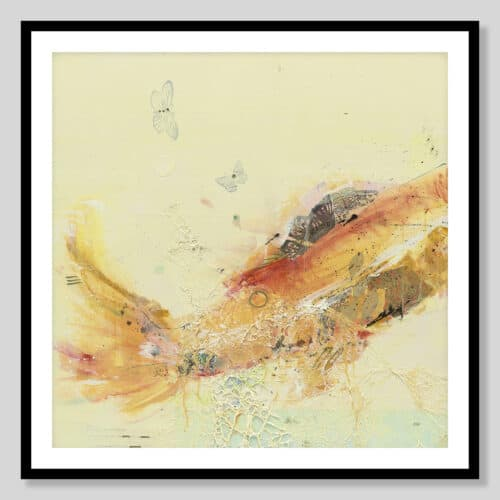 21130a Fish in the Sea I Black Frame