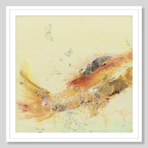 21130a Fish in the Sea I White Frame