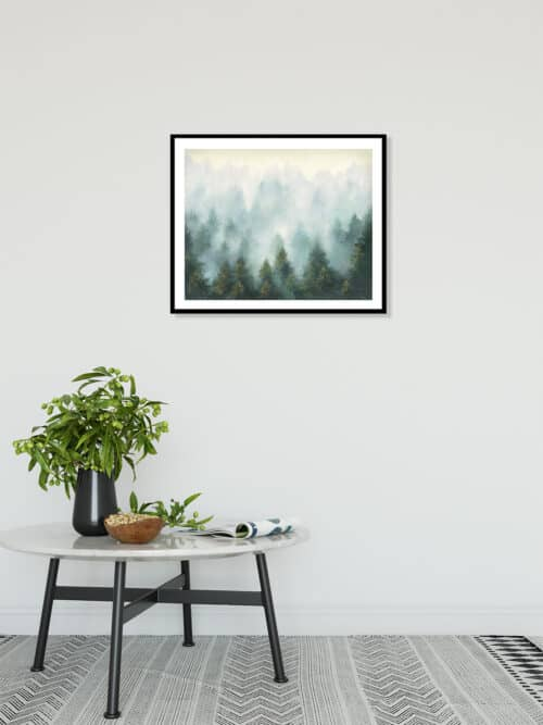 47860c Misty Forest Wall 06