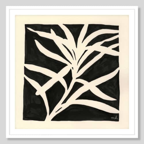 58750a Growing White Frame