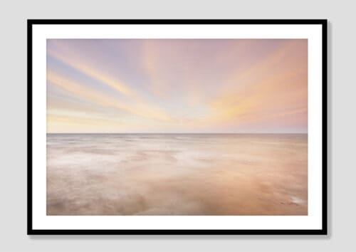 62887i Lake Superior Sky I Black Frame