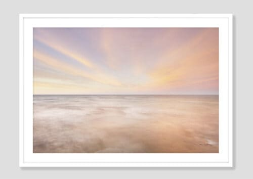 62887i Lake Superior Sky I White Frame