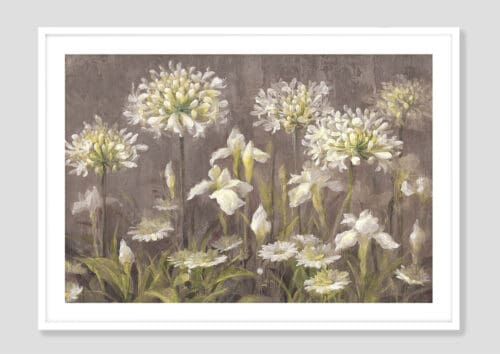 22142i Spring Blossoms Neutral White Frame